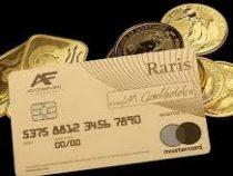 Первую банковскую платежную карту из 18-каратного золота выпустили в Британии