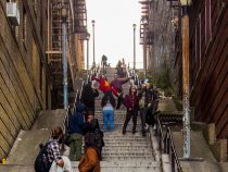 Лестница из «Джокера» стала местом паломничества туристов