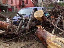 На север Италии обрушились мощные ливни
