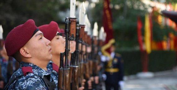 Внутренние войска МВД преобразованы в военную службу внутренней безопасности