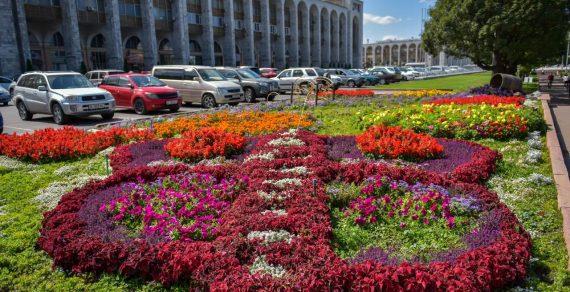 Теплая погода продержится в Бишкеке всю первую половину октября