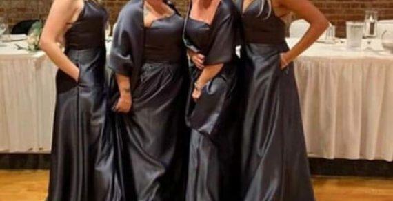 Подружки невесты нарядились в кроссовки и «мешки для мусора»