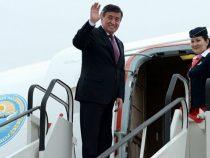 Президент вылетел в Баку для участия в заседании ССТГ