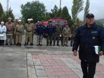 МЧС проводит учения в центре Бишкека