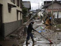 В Японии число жертв тайфуна «Хагибис» достигло 77 человек