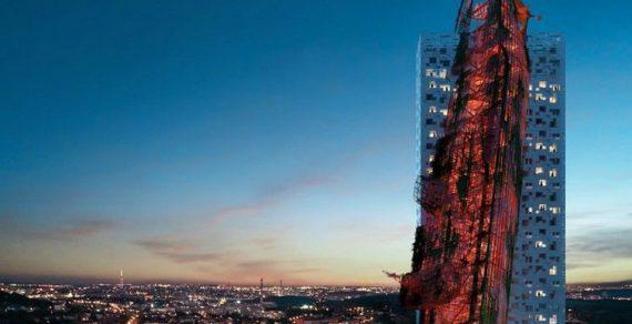 В Чехии появился необычный небоскреб