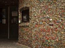 Самая микробная достопримечательность мира – стена из жвачки в Сиэтле