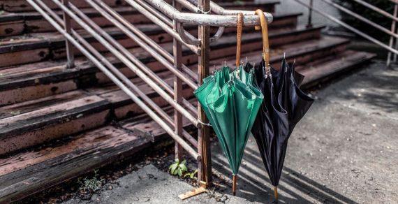 Берите зонты! Вечером в Бишкеке сильный дождь