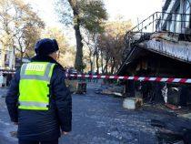 Прокуратура провела расследование по факту пожара в кафе в Бишкеке