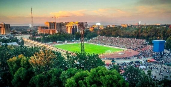 Во время матча Кыргызстан – Япония будет открыта фан-зона