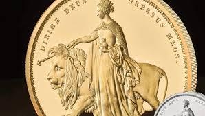 В Британии выпустили пятикилограммовую золотую монету