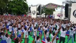 В Доминикане установили танцевальный рекорд