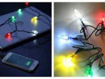Заряжая телефон, люди получили возможность заранее создать себе новогоднее настроение