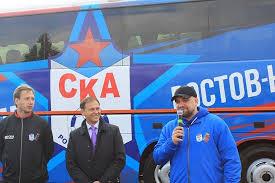 Рэп-исполнитель Баста купил автобус своей футбольной команде