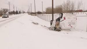 Более 175 ДТП произошло в канадском городе из-за снегопада
