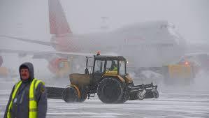 Более 900 авиарейсов отменены в Чикаго из-за мощного снегопада