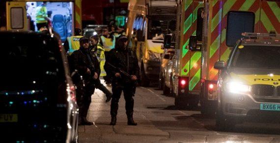 В Лондоне произошел теракт