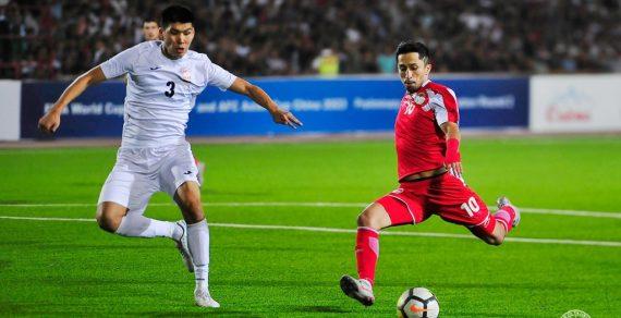 Вничью завершился матч между сборными Кыргызстана и Таджикистана по футболу