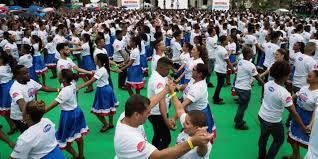 В Доминикане зарегистрирован самый массовый танец