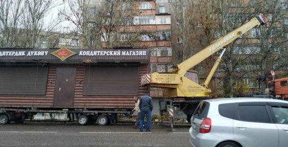 В столице продолжается демонтаж незаконно установленных объектов