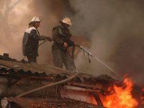 В Бишкеке в фитнес-центре произошел пожар
