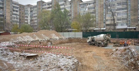 В Бишкеке началось строительство нового детского сада