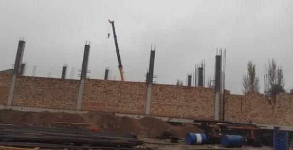 В школе в селе Селекционное строится дополнительный корпус