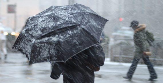 Штормовое предупреждение: в Бишкеке ожидается снегопад