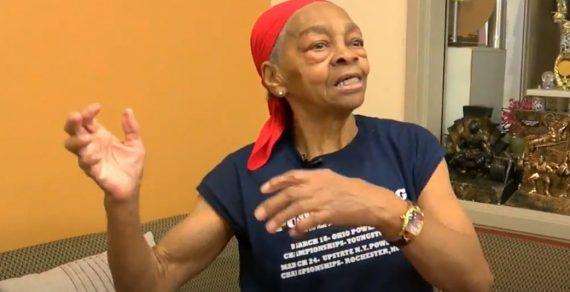 «Не на ту напал, внучок»: В США 82-летняя бодибилдерша дала отпор грабителю