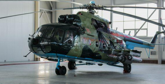 Россия передала вооруженным силам Кыргызстана два вертолета