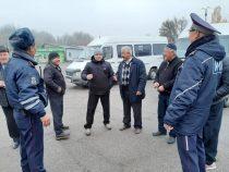 В Чуйской области инспекторы ОБДД проверяют техсостояние маршруток