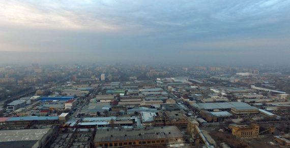 Ситуация с загрязнением воздуха в Бишкеке не критическая