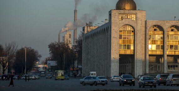 МЧС разъяснило ситуацию об уровне загрязнения воздуха в Бишкеке