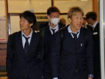 Сборная Японии по футболу прибыла в Бишкек
