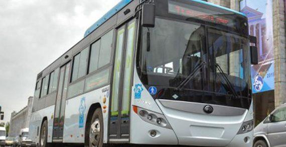 В Бишкеке изменили маршрут автобуса № 36