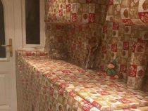 Британец к Рождеству завернул всю кухню в праздничную упаковку