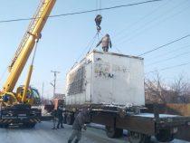 В Бишкеке продолжают сносить незаконные объекты