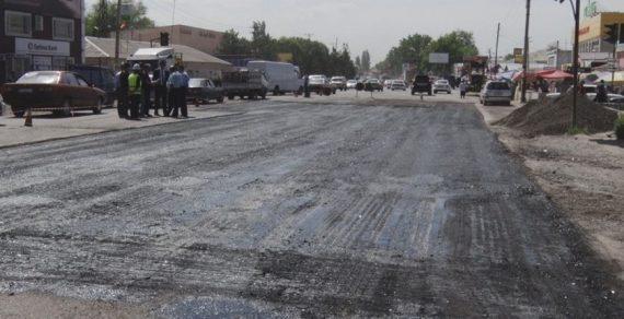 Строительство дороги Бишкек – Кара-Балта завершится осенью