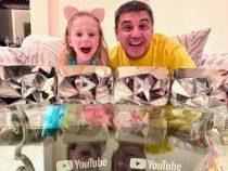 Пятилетняя девочка из России вошла в тройку самых высокооплачиваемых ютьюб-блогеров мира