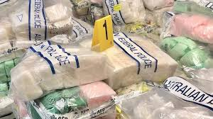 В Австралии изъяли крупнейшую партию наркотиков в истории страны