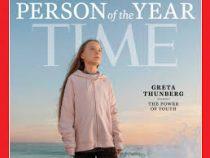 Шведская экоактивистка Грета Тунберг названа человеком года по версии американского журнала Time