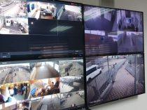 На четырех КПП в онлайн-режиме работает система видеонаблюдения