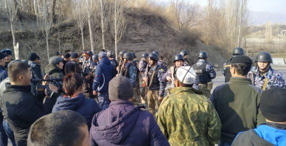 ВБаткенской области накыргызско-таджикской границе вновь произошел конфликт