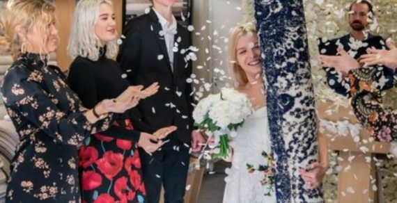 Англичанка вышла замуж за ковер