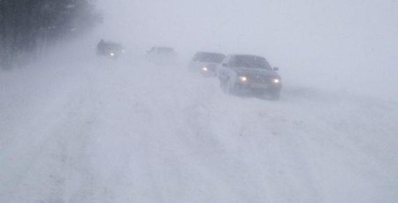 Из снежного плена спасены два автомобиля