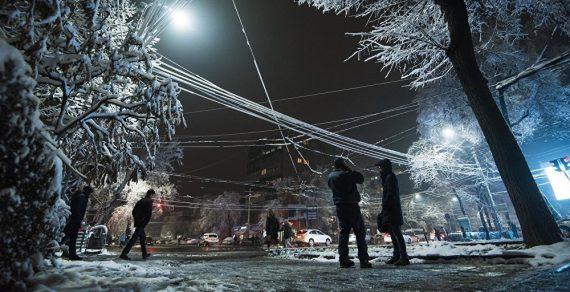 Штормовое предупреждение. В Кыргызстане ожидаются морозы до -25 градусов