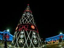 Новогодняя программа на площади Ала-Тоо начнется в 8 вечера
