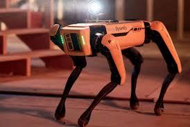 Полиция США взяла на службу робота-собаку