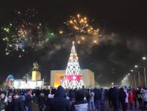 Новый год. Мэрия Бишкека использует салюты, которые будут взрываться высоко