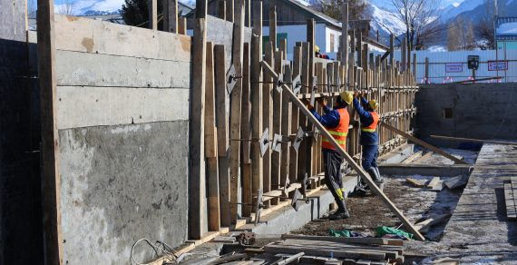 В КР началось строительство школ на средства Саудовского фонда развития